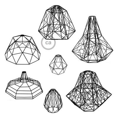 Najnoveše okrasne kletke za luči Creative-Cables