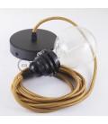 Viseča luč za senčilo z okroglim tekstilnim kablom RM22 - Whiskey