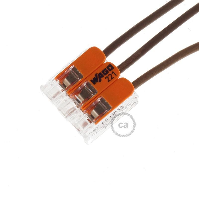 Povezovalna sponka, prilagodljiva, 3 polna