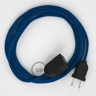 Podaljševalni kabel za napajanje (2P 10A) moder rejon RM12 - Made in Italy