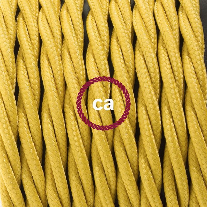 Komplet s stikalom, TM25 gorčično rumen rejon 1,80 m. Izberite barvo vtikača in stikala.