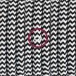 """Viseča luč """"Kača"""" iz okroglega kabla RZ04, zigzag črn."""
