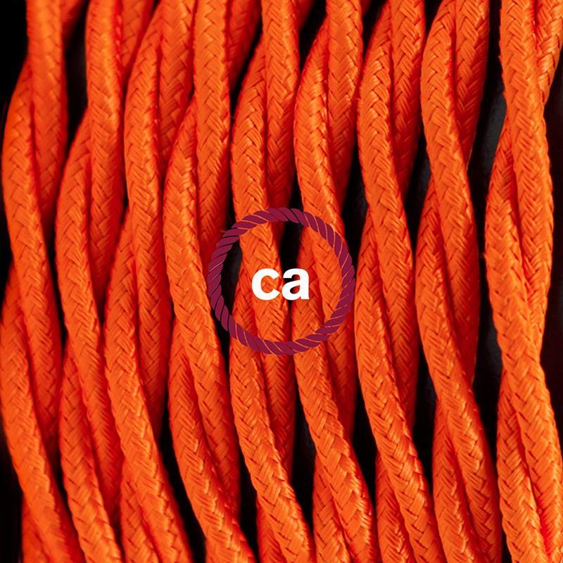 "Viseča luč ""Kača"" iz zavitega kabla TM15, oranžen."