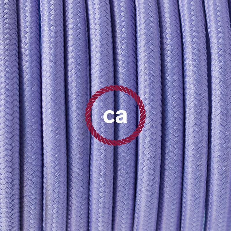 """Viseča luč """"Kača"""" za senčilo iz okroglega kabla RM07, lila."""