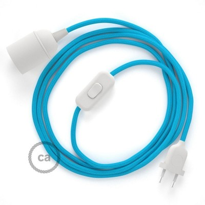 SnakeBis komplet za svetilko s tekstilnim kablom - Turkizen Rejon RM11