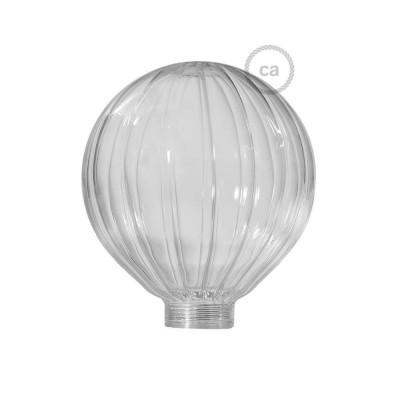 Steklena krogla za dekorativno svetilko G125 Prozoren balon