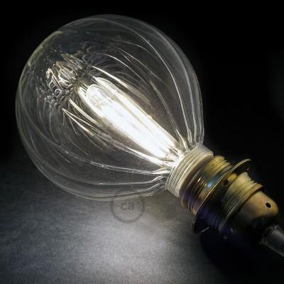 Modularna dekorativna LED svetilka s kroglo Prozoren balon 5W E27 2700K Zatemnilna