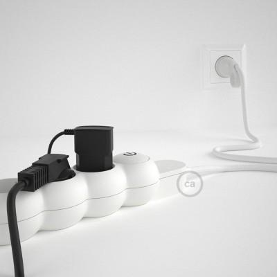 Napajalni razdelilnik s tekstilnim električnim kablom Bel RM01 in udobnim šuko vtikačem