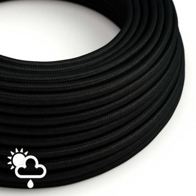 Zunanji okrogli električni kabel SM04 - črn