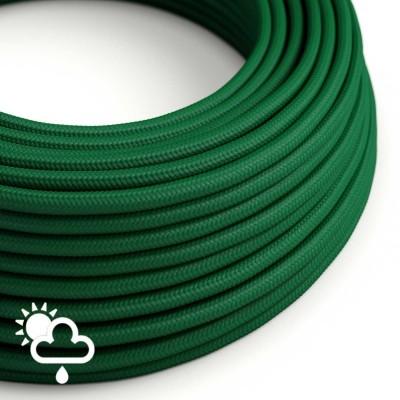 Zunanji okrogli električni kabel SM21 - temno zelen