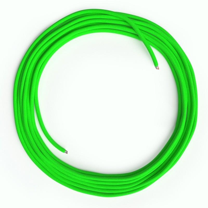 LAN - Eternetni tekstilni kabel RF06 Fluo zelen - Cat 5e brez RJ45 vtiča