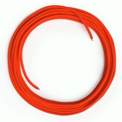 LAN - Eternetni tekstilni kabel RF15 Fluo oranžen brez RJ45 vtiča