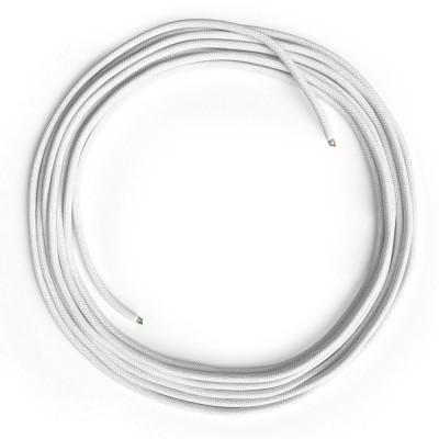 LAN - Eternetni tekstilni kabel RC01 Bel bombaž brez RJ45 vtiča
