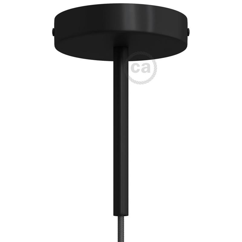 Cilindrična kovinska rozeta s 15 cm objemko - komplet