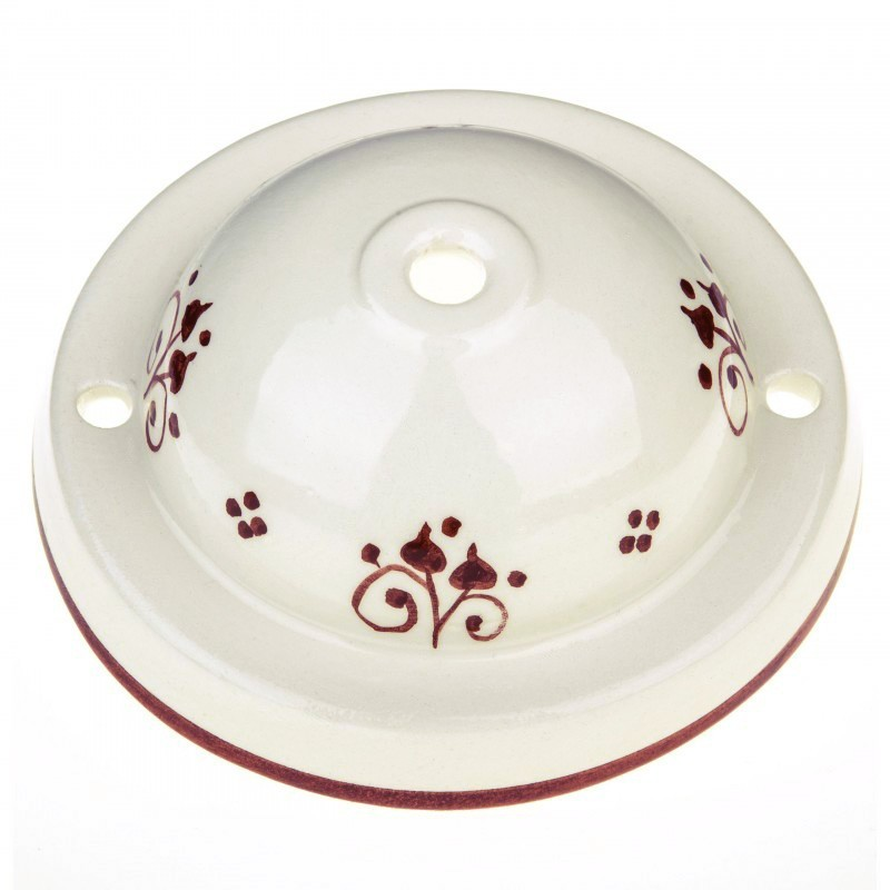 Ceramic Deco-81 Berries stropna rozeta - komplet
