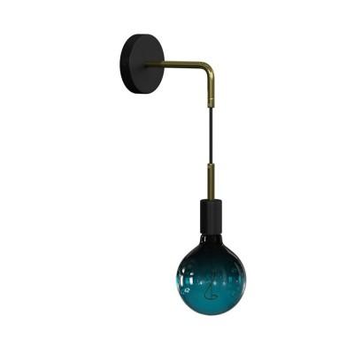 Fermaluce Glam metal, stensko viseče svetilo s kovinsko rozeto