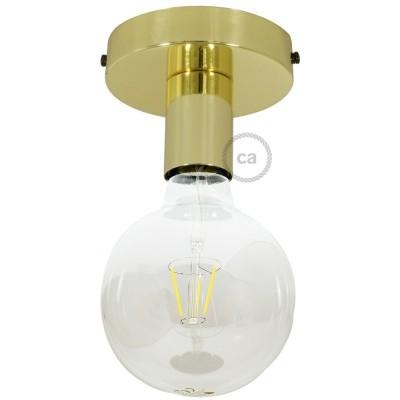 Fermaluce Glam, kovinsko svetilo za stensko ali stropno montažo