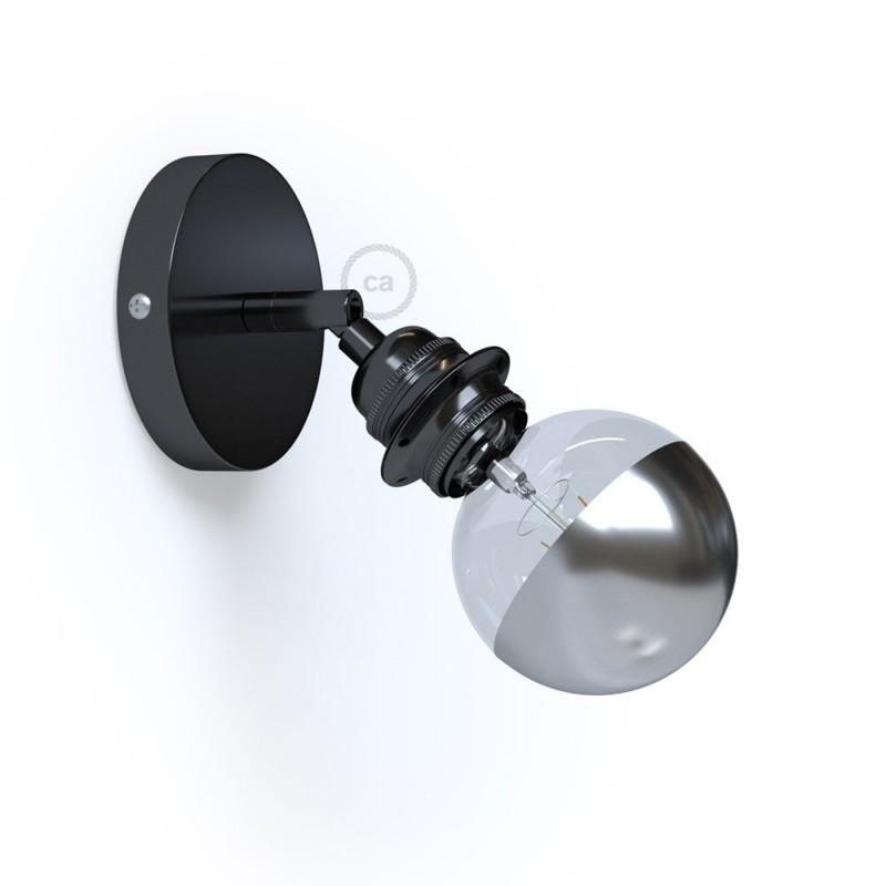 Fermaluce Metallo 90° Urban, nastavljivo svetilo z grlom E27 za stensko ali stropno montažo