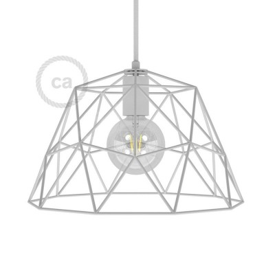Kovinska kletka za svetila Dome XL