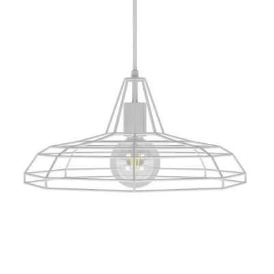 Viseče svetilo s tekstilnim kablom in senčilom Sonar - Izdelano v Italiji