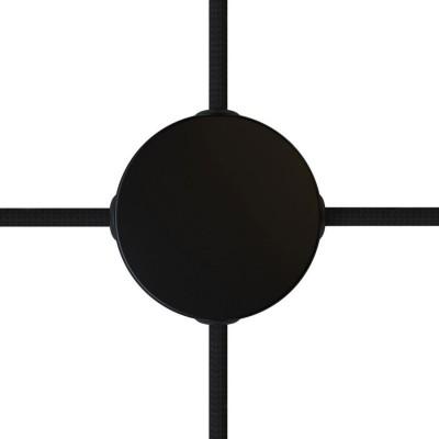 Mini kovinska rozeta s 4 stranskimi izhodi