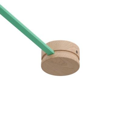 Začetni leseni nosilec, rozeta za verigo luči, Filé sistem