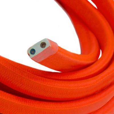 Električni kabel za verigo luči v fluo oranžni barvi CF15