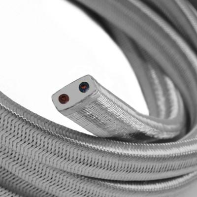 Električni kabel za verigo luči v srebrni barvi CM02
