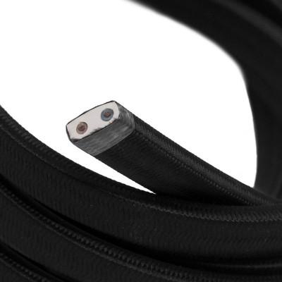 Električni kabel za verigo luči v črni barvi CM04