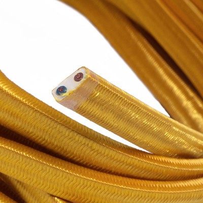 Električni kabel za verigo luči v zlati barvi CM05