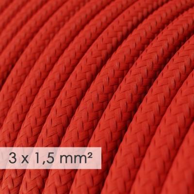 Okrogel kabel večjega preseka (3x1,50) - rdeč RM09