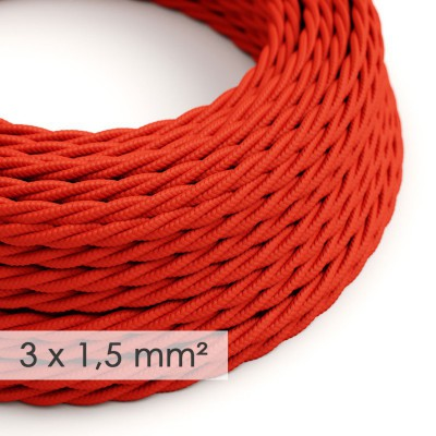 Zavit kabel večjega preseka (3x1,50) - rdeč TM09