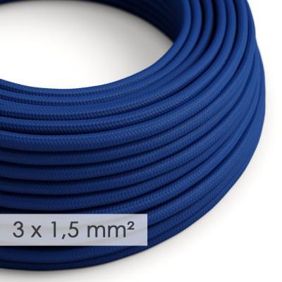 Okrogel kabel večjega preseka (3x1,50) - moder RM12