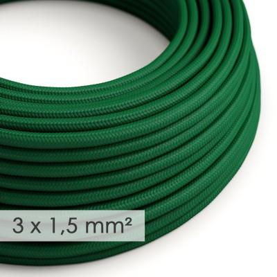 Okrogel kabel večjega preseka (3x1,50) - temno zelen RM21