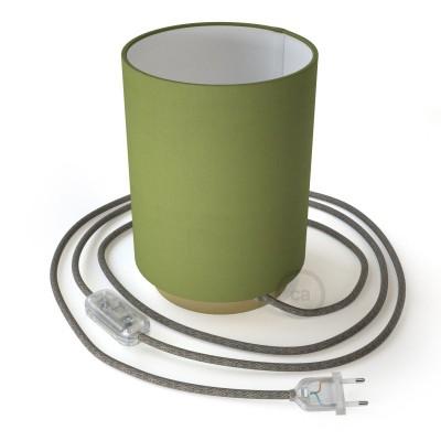 Kovinski Posaluce z olivno zelenim senčilom