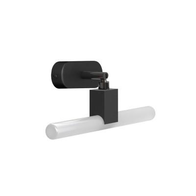 Fermaluce Syntax, nastavljiva viseča stenska luč s S14d grlom in ovalno leseno rozeto