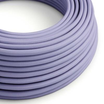 Okrogel tekstilen električen kabel RM07 - lila
