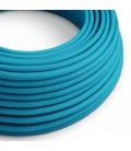 Okrogel tekstilen električen kabel RM11 - azur