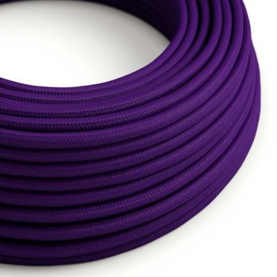 Okrogel tekstilen električen kabel RM14 - vijola