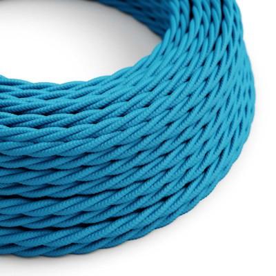 Zavit tekstilen električen kabel TM11 - azur