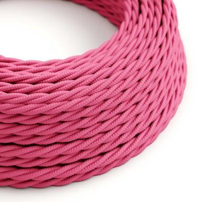 Zavit tekstilen električen kabel TM08 - fuksija