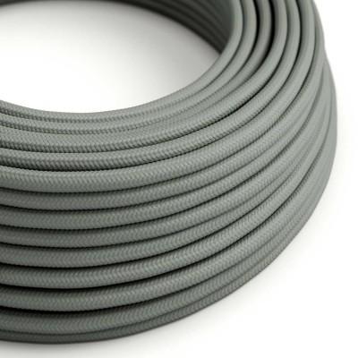 Okrogel tekstilen električen kabel RM03 - siv