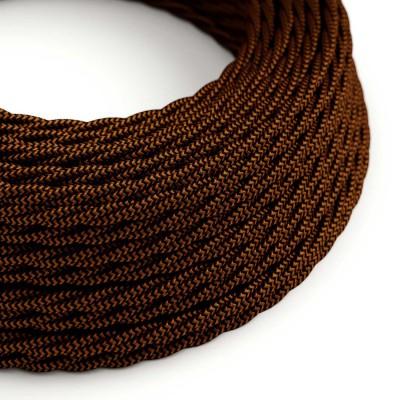 Zavit tekstilen električen kabel Lighting Flex - TZ22 Črni Whiskey