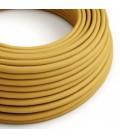 Okrogel električen kabel, gorčično rumen, RM25