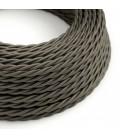 Zavit električen kabel, temno siv, TM26