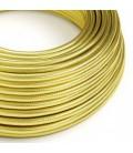 Okrogel električen kabel prevlečen z 100% bakrom, medenina
