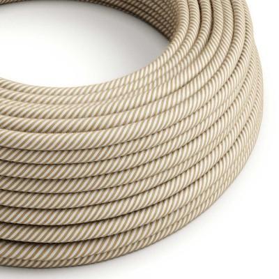 Okrogel električen kabel Vertigo prekrit z bombažem in tekstilom Hawser ERN07