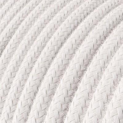 Okrogel električen kabel, bombaž RC16 Pale Pink