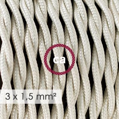 Zavit kabel večjega preseka (3x1,50) - slonovina TM00