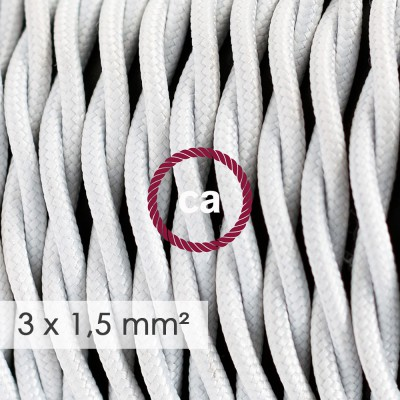 Zavit kabel večjega preseka (3x1,50) - bel TM01